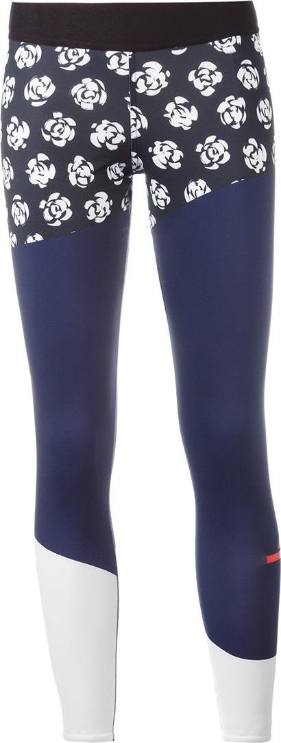 Adidas By Stella McCartney floral print running leggings