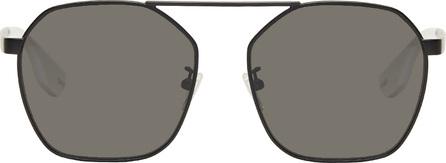 McQ - Alexander McQueen Black Aviator Sunglasses