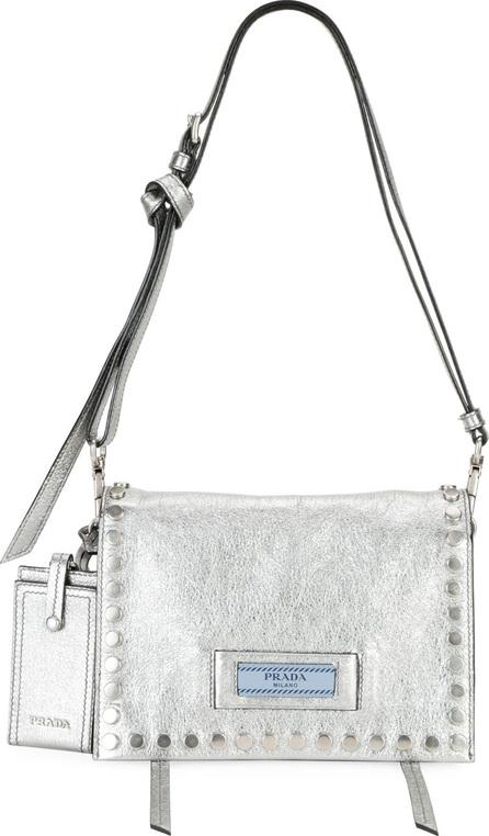 Prada Etiquette Small Glace Calf Shoulder Bag