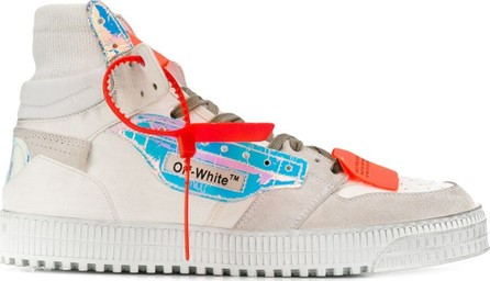 Off White Off Court high-top sneakers