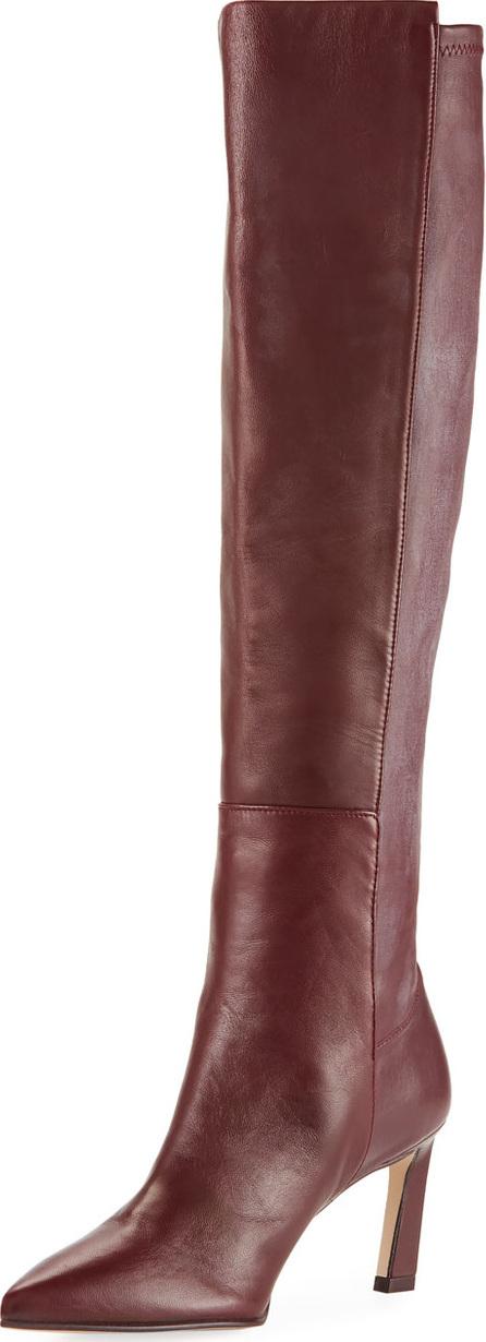 Stuart Weitzman Demi 75mm Leather Knee Boots