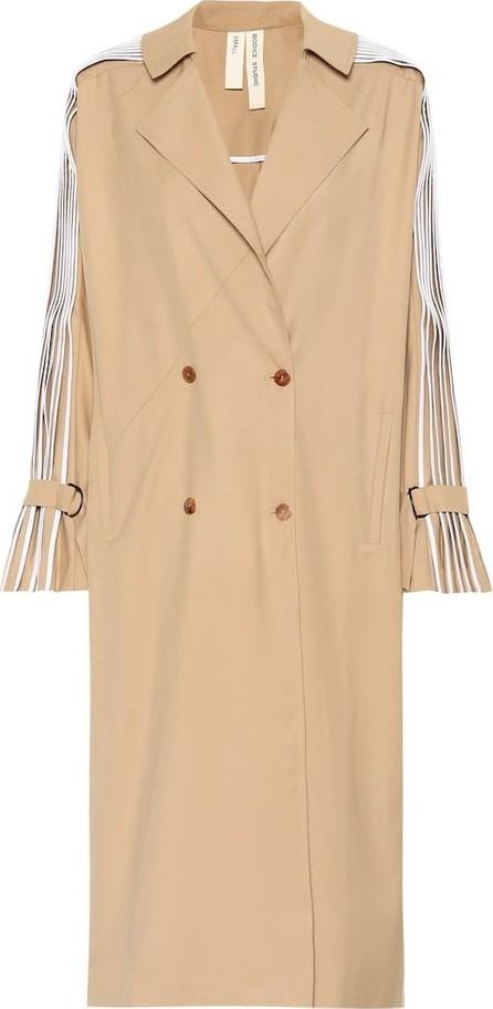 Bodice Studio Pleated wool-blend coat