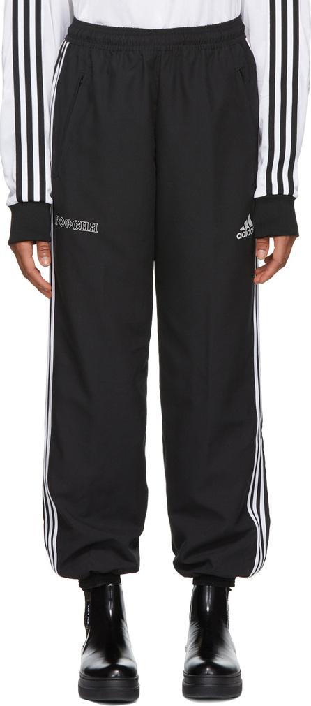 Gosha Rubchinskiy Black adidas Originals Edition Logo Lounge Pants