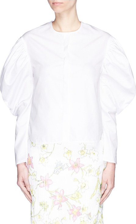 Georgia Alice Puff sleeve poplin shirt