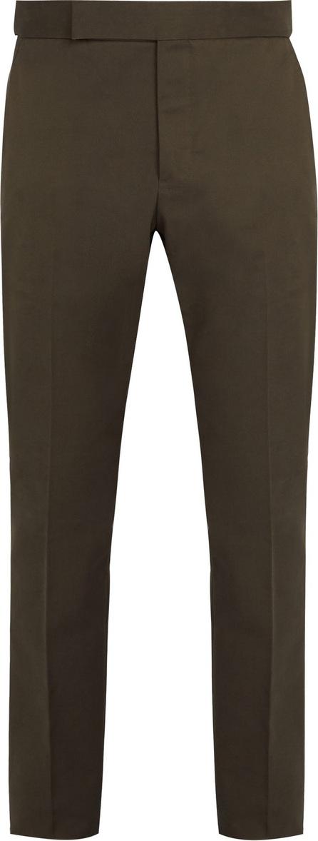 Berluti Straight-leg cotton chino trousers