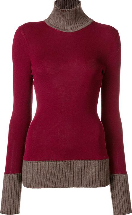 Victoria Beckham Contrast neck jumper