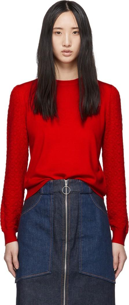A.P.C. Red Natacha Sweater
