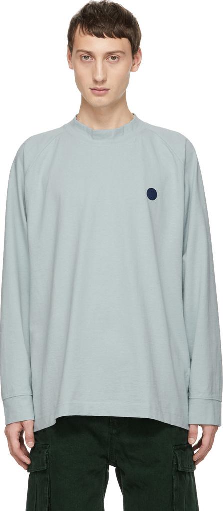 Acne Studios Blå Konst Blue Carp Uni T-Shirt