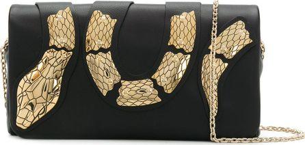 RED Valentino Snake embellished clutch