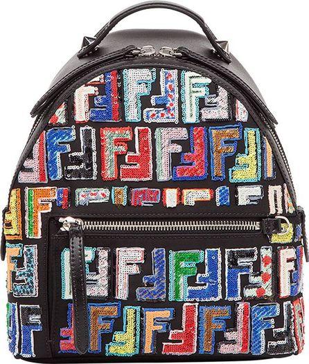 Fendi sequin embellished backpack