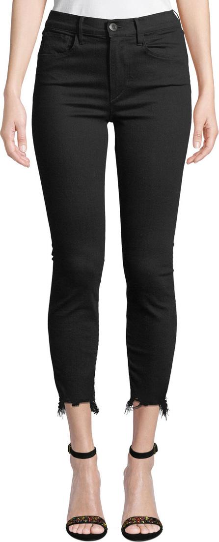 3X1 W3 Cropped Frayed Skinny Jeans