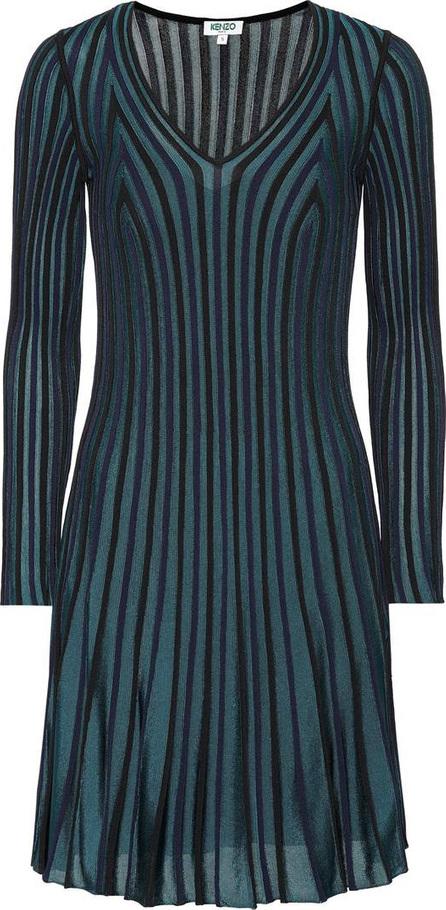 KENZO Pleated knit dress