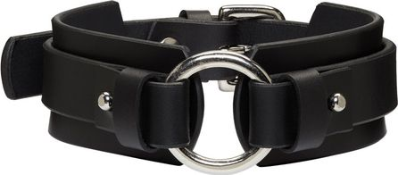 Fleet Ilya Black Chunky O Ring Collar