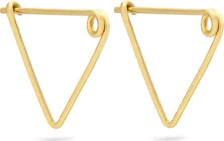 Fay Andrada Nasta yellow-gold earrings