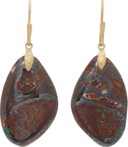 Annette Ferdinandsen 18K Gold Yawah Opal Earrings