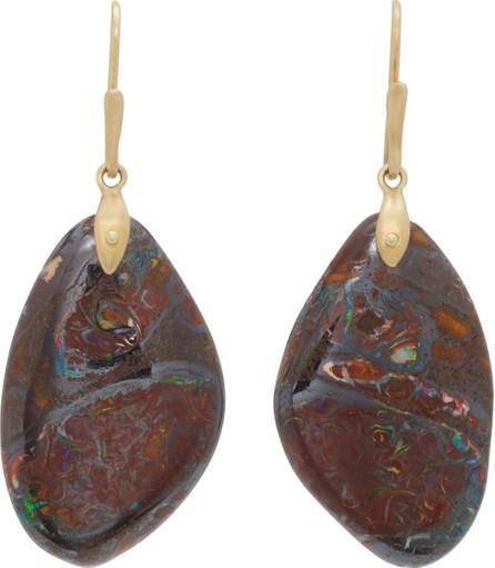 Annette Ferdinandsen 18K Gold Yawah Opal Earrings