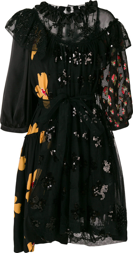 Simone Rocha Embellished lace dress