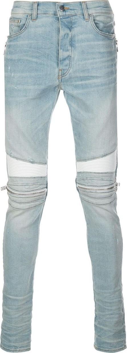 Amiri MX2 mid-rise skinny biker jeans