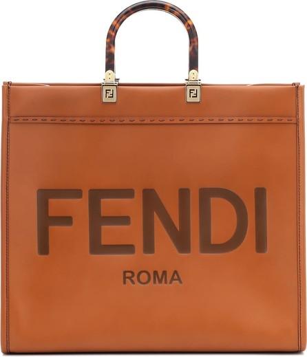 Fendi Sunshine Large leather shopper
