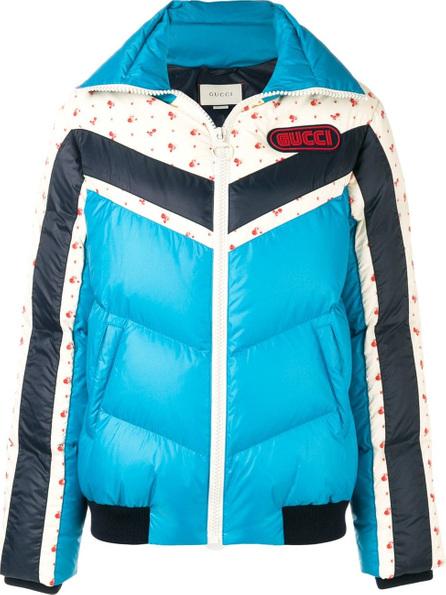 Gucci Logo patch puffer jacket