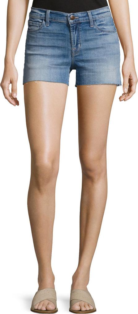 J BRAND 1044 Mid-Rise Denim Cutoff Shorts, Light Blue