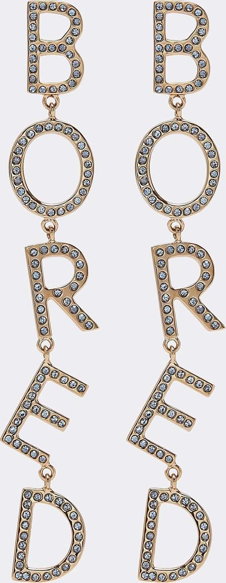 Bijoux De Famille 'Bored' strass drop earrings