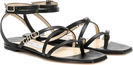 Jimmy Choo Jas leather sandals