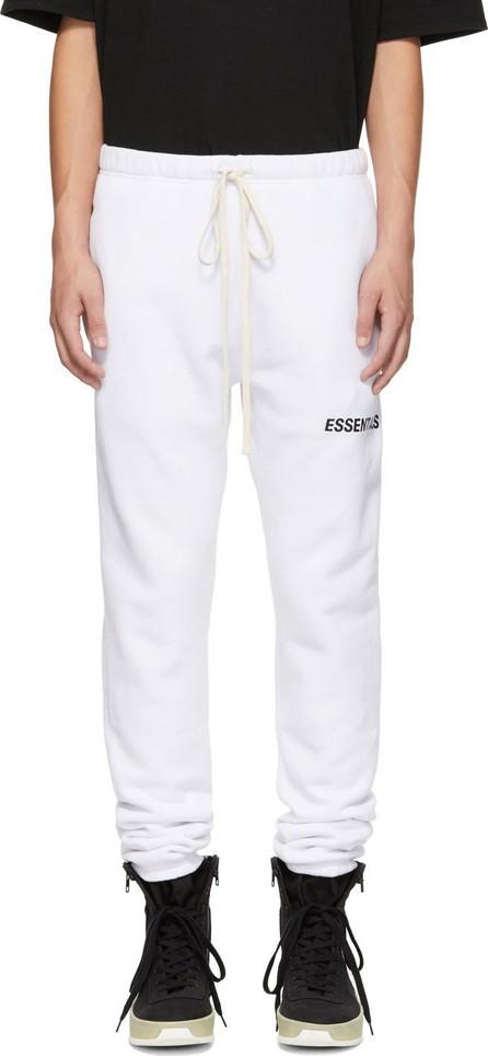 Essentials White Logo Lounge Pants