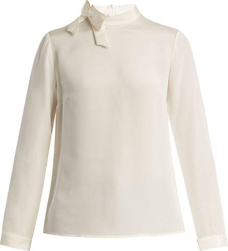 Goat Eden silk-crepe blouse