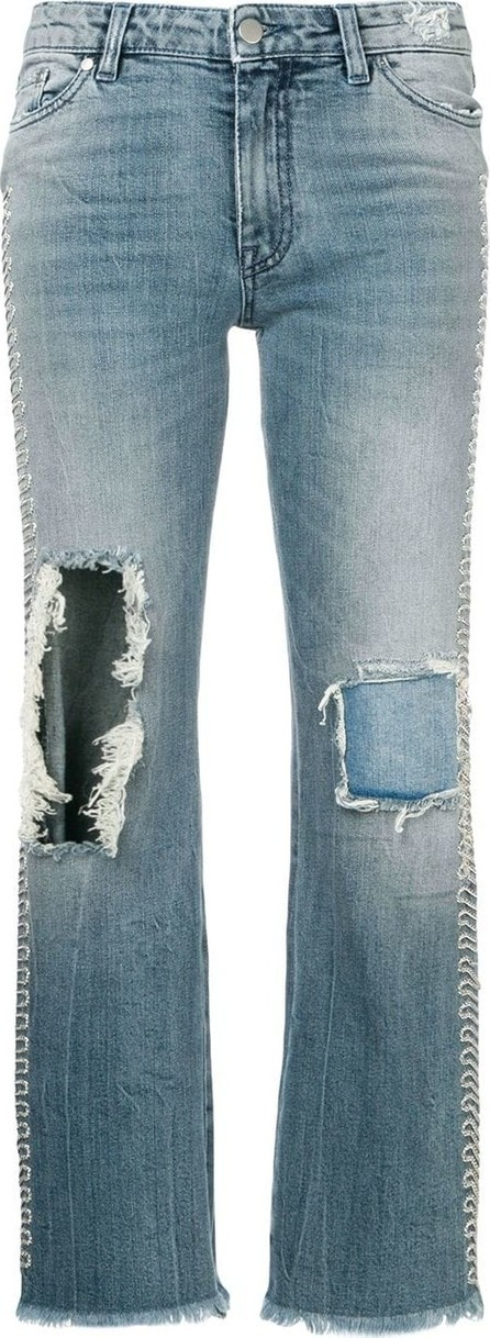 Alchemist Distressed bootcut jeans