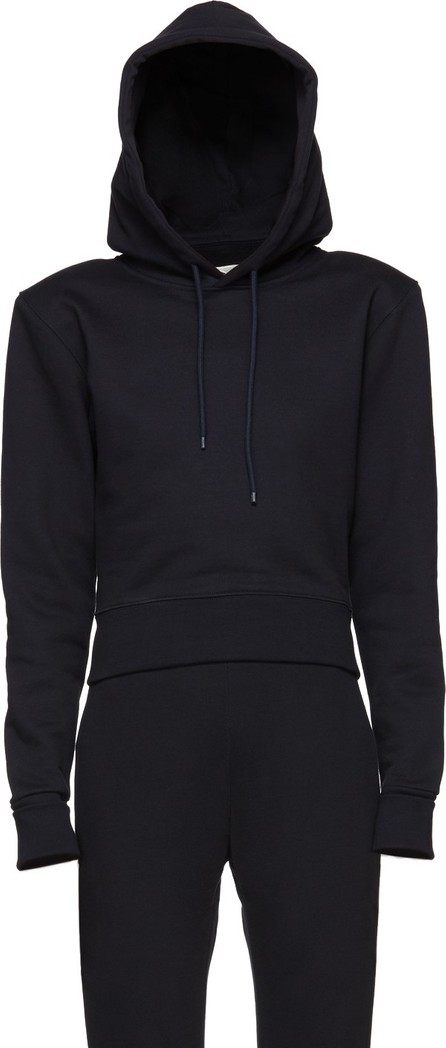 A_Plan_Application Navy Fitted Hoodie
