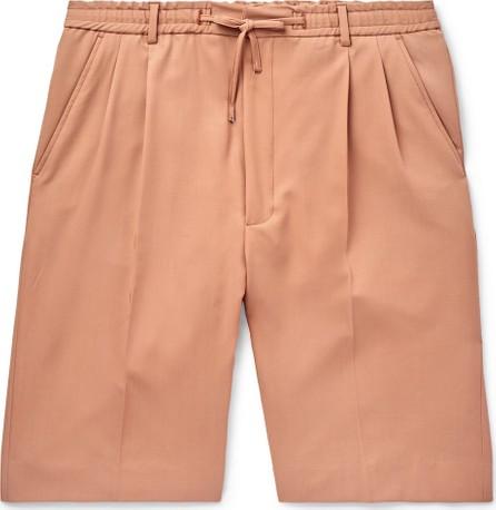 Cmmn Swdn Jayson Pleated Wool-Twill Drawstring Shorts