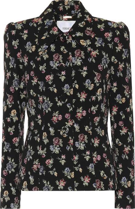Erdem Floral stretch-cotton jacket