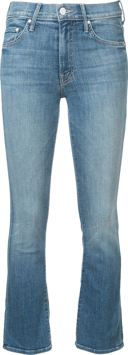 MOTHER Cropped slim fit jeans