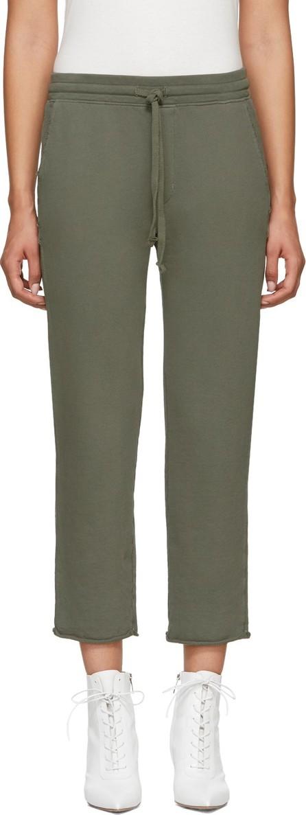 AMO Green Straight-Leg Lounge Pants