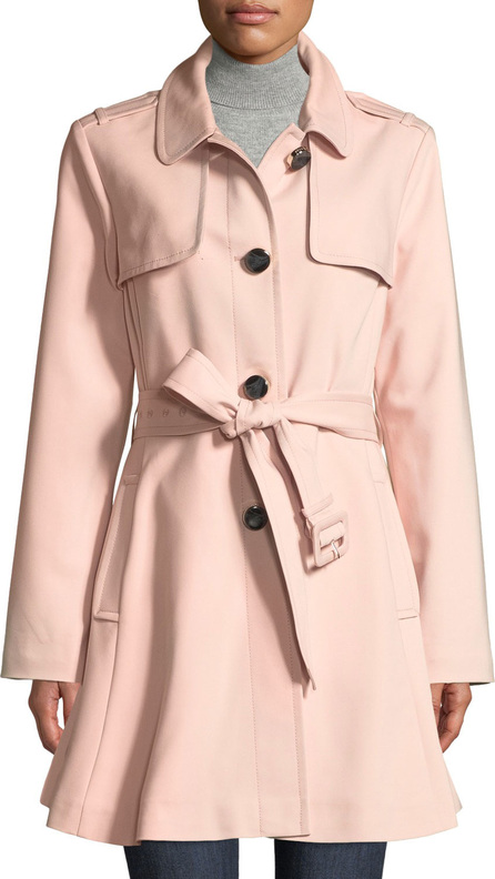 Kate Spade New York belted rain trench coat
