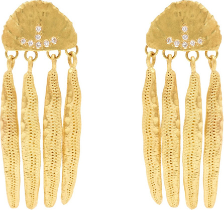 Drawn 18kt gold single earring Orit Elhanati b09A2qgOpQ