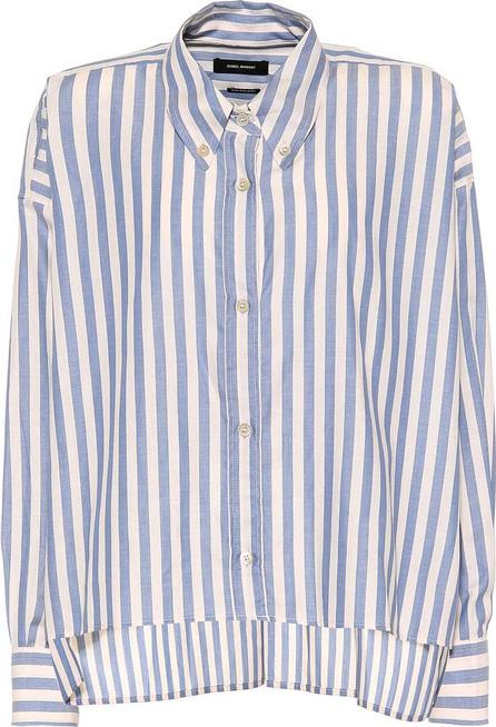 Isabel Marant Macao striped cotton shirt