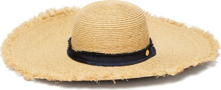 HEIDI KLEIN Cape Elizabeth frayed raffia wide-brim hat
