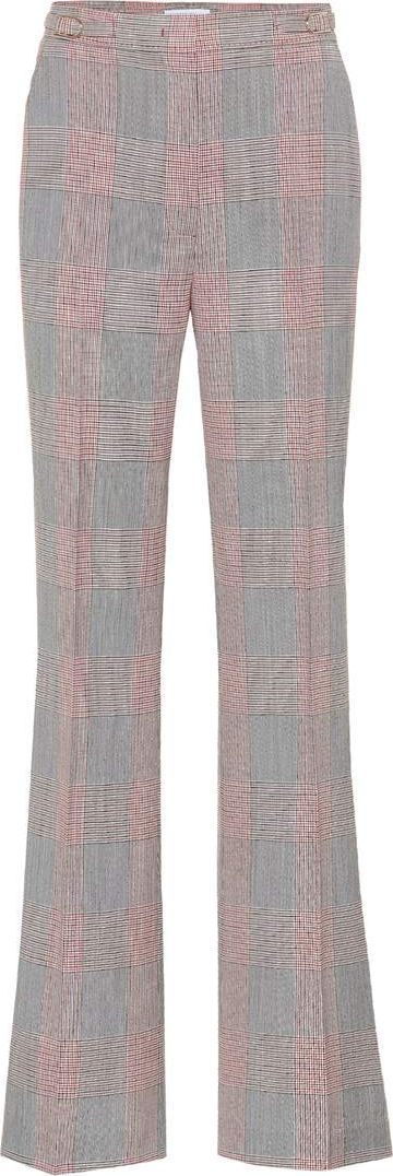 Gabriela Hearst Vesta plaid wool trousers