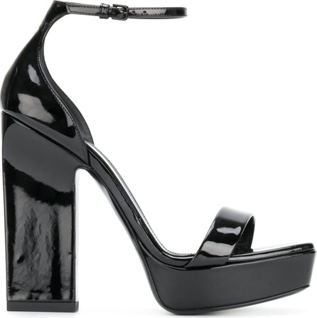 Saint Laurent Amber 105 platform sandals