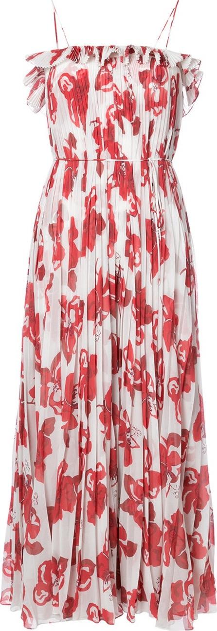 Adam Lippes floral print maxi dress