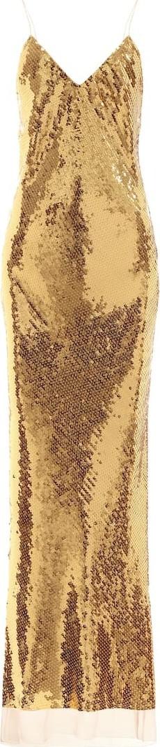 Stella McCartney Bernice sequined gown