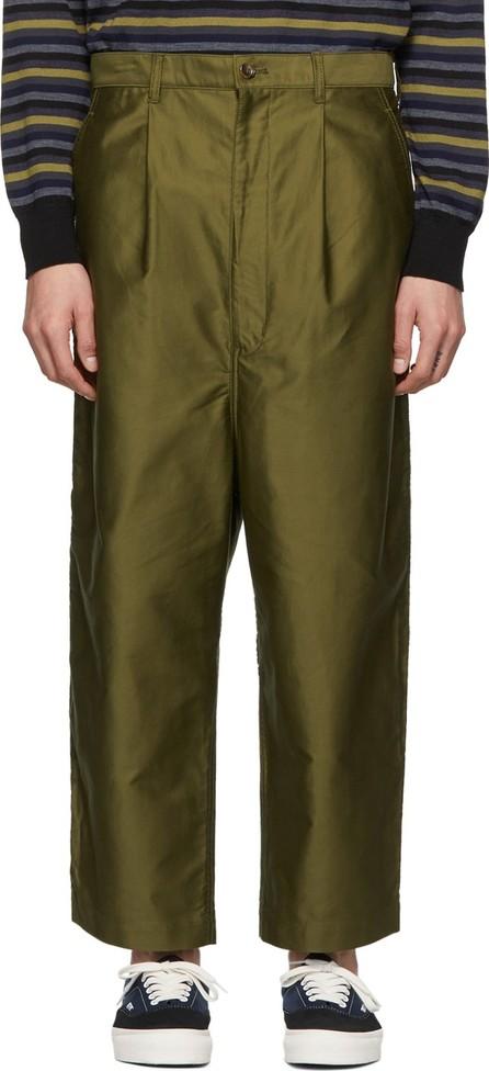 Comme des Garçons Homme Khaki Moleskin Trousers