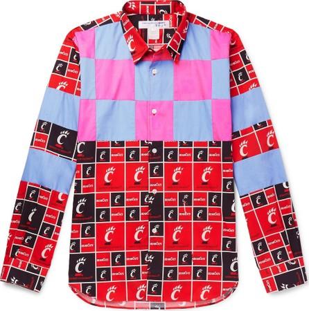 Comme Des Garcons Printed Cotton-Poplin Shirt