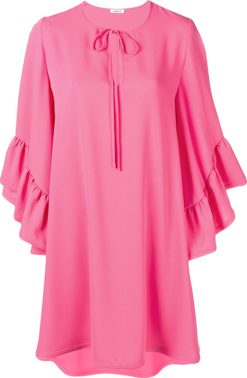 P.A.R.O.S.H. - Peplum cuff shift dress