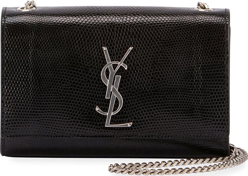 Saint Laurent Kate Monogram YSL Small Lizard Chain Shoulder Bag - Mkt 87d31c88a2cde