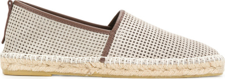 Ermenegildo Zegna Perforated espadrilles