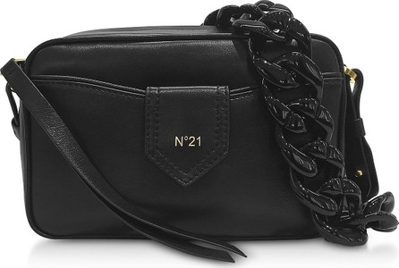N°21 Black Leather Camera Bag