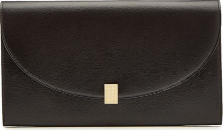 Victoria Beckham Half Moon Leather Travel Wallet